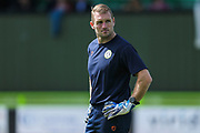 Forest Green Rovers goalkeeper coach Dan Connor during the EFL Sky Bet League 2 match between Forest Green Rovers and Grimsby Town FC at the New Lawn, Forest Green, United Kingdom on 17 August 2019.