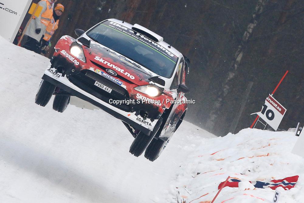 Henning Solberg (NOR) - Ilka Minor (AUS) - Ford Fiesta WRC