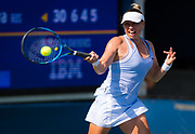 Vera Zvonareva of Russia in action during the final qualifications round , at the 2018 US Open Grand Slam tennis tournament, New York, USA, August 24th 2018, Photo Rob Prange / SpainProSportsImages / DPPI / ProSportsImages / DPPI