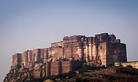 JODHPUR, INDIA - CIRCA NOVEMBER 2016:  Mehrangarh Fort in Jodphur