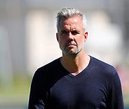 FODBOLD: Cheftræner Michael Hemmingsen (Næstved BK) før kampen i NordicBet Ligaen mellem FC Helsingør og Næstved Boldklub den 27. maj 2017 på Helsingør Stadion. Foto: Claus Birch