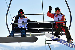 World Cup Banked Slalom, SALT Michelle, CAN, VAN BEEK Renske, NED at the 2016 IPC Snowboard Europa Cup Finals and World Cup