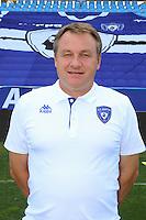 Frederic HANTZ - 09.10.2013 - Photo officielle Bastia 2013/2014 - Ligue 1<br /> Photo : Icon Sport