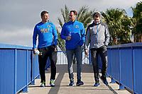 assistant trainer *Leeroy Echteld* of AZ Alkmaar, Robert Eenhoorn, Max Huiberts