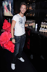 RICK PARFITT JNR at the Mulberry Event at Morton's Berkeley Square, London on 3rd November 2010.