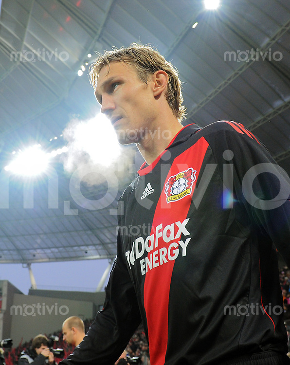 FUSSBALL   1. BUNDESLIGA   SAISON 2010/2010   15. SPIELTAG Bayer 04 Leverkusen - 1. FC Koeln                            05.12.2010 Sami HYYPIAE (Bayer 04 Leverkusen)