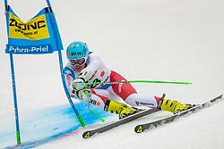 01.03.2020, Hannes Trinkl Weltcupstrecke, Hinterstoder, AUT, FIS Weltcup Ski Alpin, Alpine Kombination, Herren, Super G, im Bild Stefan Rogentin (SUI) // Stefan Rogentin of Switzerland in action during his SuperG run of men's Alpine combined of FIS ski alpine world cup at the Hannes Trinkl Weltcupstrecke in Hinterstoder, Austria on 2020/03/01. EXPA Pictures © 2020, PhotoCredit: EXPA/ Johann Groder