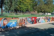 Great Wall Mural, Los Angeles, CA, Tujunga Wash, Sub Watershed, LA River, San Fernando Valley,
