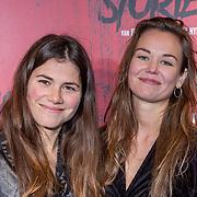 NLD/Amsterdam/20191031 - Ghost Stories premiere, Hannah van Vliet en vriendin