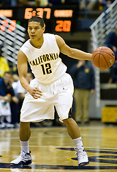 December 28, 2009; Berkeley, CA, USA;  California Golden Bears guard Brandon Smith (12) during the first half against the Utah Valley Wolverines at the Haas Pavilion.  California defeated Utah Valley 85-51.