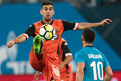 August 3, 2017 - Saint Petersburg, Russia - Roei Gordana of FC Bnei Yehuda vie for the ball during the UEFA Europa League match, Third Qualifying Round, 2nd Leg between FC Zenit St. Petersburg and FC Bnei Yehuda at Saint Petersburg Stadium on August 03, 2017 in St. Petersburg, Russia. (Credit Image: © Igor Russak/NurPhoto via ZUMA Press)