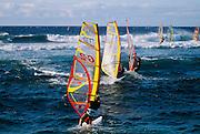 Windsurfing, Hookipa, Maui, Hawaii
