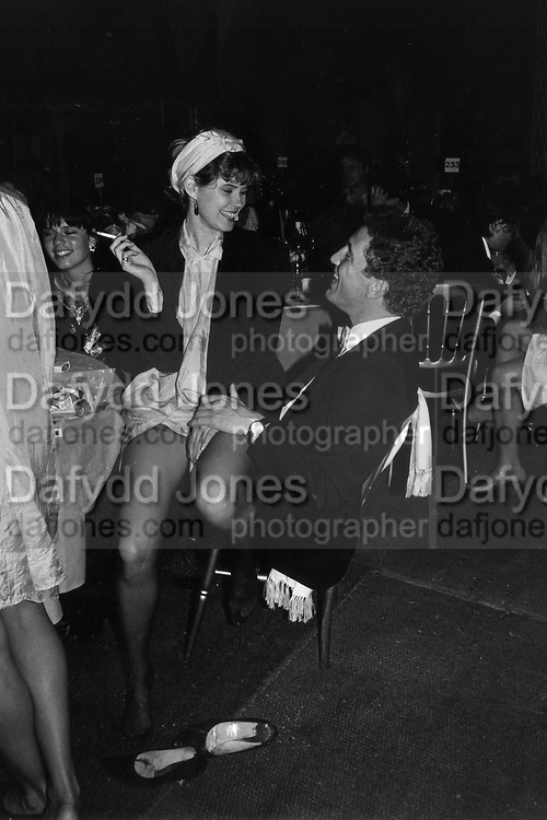 Virge Gilchrist and Johnnie Boden at Treaty of Windsor Ball 2/6/1986 ONE TIME USE ONLY - DO NOT ARCHIVE  © Copyright Photograph by Dafydd Jones 66 Stockwell Park Rd. London SW9 0DA Tel 020 7733 0108 www.dafjones.com