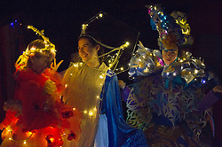 Outfits adorned with bells, lights and mirrors are among the designs by University of Edinburgh students which are to feature at events marking the Indian festival of Diwali this weekend<br /> (c) Ger Harley | Edinburgh Elite media