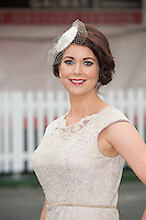 31/07/2014 Repro Free  Cora Casserly from Anthony Ryans at the Anthony Ryans Best Dressed Ladies day  at the Galway Races Summer Festival <br />  .Photo:Andrew Downesfrom