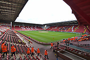 Sheffield United Bramall Lane ground before the EFL Sky Bet Championship match between Sheffield Utd and Ipswich Town at Bramall Lane, Sheffield, England on 14 October 2017. Photo by Ian Lyall.