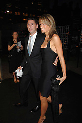 Property developer CHRIS CANDY and EMILY CROMPTON at the Berkeley Square End of Summer Ball in aid of the Prince's Trust held in Berkeley Square, London on 27th September 2007.<br />