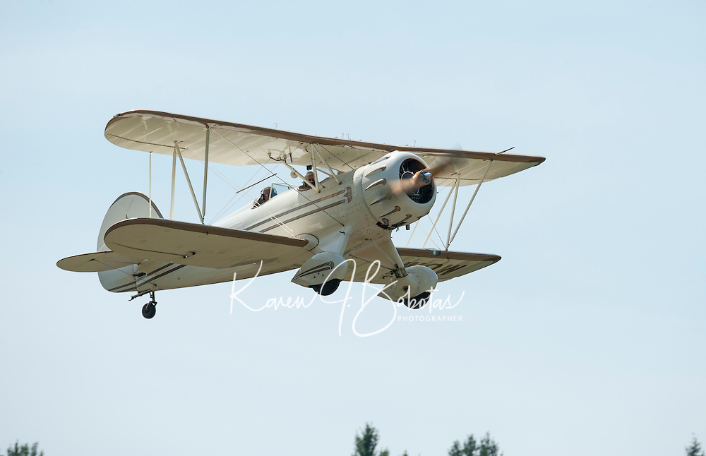"A flight with Lakes Biplane to Newport Airfield for a ""fly in"".     © Karen Bobotas Photographer"