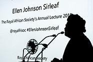 RAS - Annual Lecture 2018 - Ellen Johnson Sirleaf