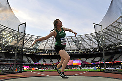 20/07/2017 : Noelle Lenihan (IRL), F38, Women's Discus, at the 2017 World Para Athletics Championships, Olympic Stadium, London, United Kingdom