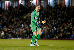 Thomas Heaton of Burnley celebrates after George Boyd scores a goal to make it 1-0 - Photo mandatory by-line: Rogan Thomson/JMP - 07966 386802 - 02/12/2014 - SPORT - FOOTBALL - Burnley, England - Turf Moor Stadium - Burnley v Newcastle United - Barclays Premier League.