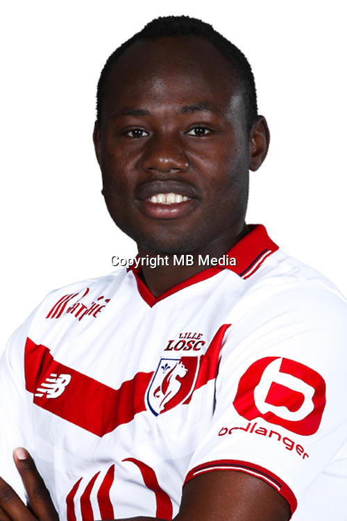 Stoppila Sunzu  during the photocall of Lille on 19th September 2016<br /> Photo : Lille / Icon Sport