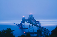 The Astoria–Megler Bridge is a steel cantilever through truss bridge that spans the Columbia River between Astoria, Oregon and Point Ellice near Megler, Washington, in the United States. Astoria, Oregon.