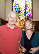 Pictured at the launch of Midsummer Melodies, a concert of choral music with Marine Institute singers, SSE Airs taking place in the Augustinian Church Galway on June 11th. Proceeds to COPE Galway were Francis O Beirn and Margot Cronin.  Photo:Andrew Downes, xposure.