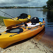 Tomoka River kayaks rest along the Ormond Beach Loop in Ormond Beach, Florida. (AP Photo/Alex Menendez) Florida scenic highway photos from the State of Florida. Florida scenic images of the Sunshine State.
