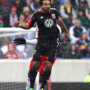 Dwayne De Rosario, D.C. United, in action during the New York Red Bulls V D.C. United, Major League Soccer regular season match at Red Bull Arena, Harrison, New Jersey. USA. 16th March 2013. Photo Tim Clayton