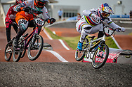 #1 (VAN GENDT Twan) NED [Oegema, 100%, Redbull] at Round 8 of the 2019 UCI BMX Supercross World Cup in Rock Hill, USA