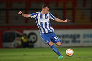 Brighton & Hove Albion midfielder Dessie Hutchinson (36) during the EFL Trophy match between Stevenage and Brighton and Hove Albion at the Lamex Stadium, Stevenage, England on 4 October 2016.