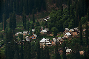 A village near Baltal, Kashmir, India