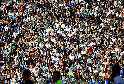 October 7, 2018 - Rome, Italy - SS Lazio v ACF Fiorentina - Serie A .Lazio supporters at Olimpico Stadium in Rome, Italy on October 7, 2018. (Credit Image: © Matteo Ciambelli/NurPhoto/ZUMA Press)