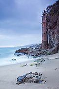 Victoria Tower At Victoria Beach In Laguna Beach California Photos