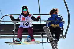 World Cup Banked Slalom, PEDROSA BERSANO Celeste, ARG at the 2016 IPC Snowboard Europa Cup Finals and World Cup
