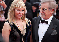 Kate Capshaw and Director Steven Spielberg at the gala screening for the film The BFG at the 69th Cannes Film Festival, Saturday 14th May 2016, Cannes, France. Photography: Doreen Kennedy