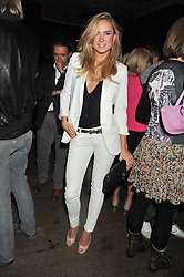 KIMBERLY GARNER at a party to celebrate the launch of the Tara Smith Vegan Haircare range held at Sketch, 9 Conduit Street, London on 26th September 2012.