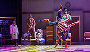The Mad Hatter&rsquo;s Tea Party <br /> by Zoo Nation<br /> directed by Kate Prince<br /> presented by Zoo Nation, The Roundhouse &amp; The Royal Opera House<br /> at The Roundhouse, London, Great Britain <br /> rehearsal <br /> 29th December 2016 <br /> <br /> Tommy Franzen as Ernest <br /> <br /> Issac Turbo Baptiste<br /> as the Mad Hatter <br /> <br /> Teneisha Bonner as The Queen of Hearts <br /> <br /> Kayla Lomas-Kirton as Alice <br /> <br /> Rowen Hawkins as Tweedle Dum <br /> <br /> Manny Tsakanika as Tweedle Dee<br /> <br /> Bradley Charles as the March Hare <br /> <br /> Andry Oporia as The Cheshire Cat <br /> <br /> Jaith Betote as The White Rabbit <br /> <br /> Photograph by Elliott Franks <br /> Image licensed to Elliott Franks Photography Services