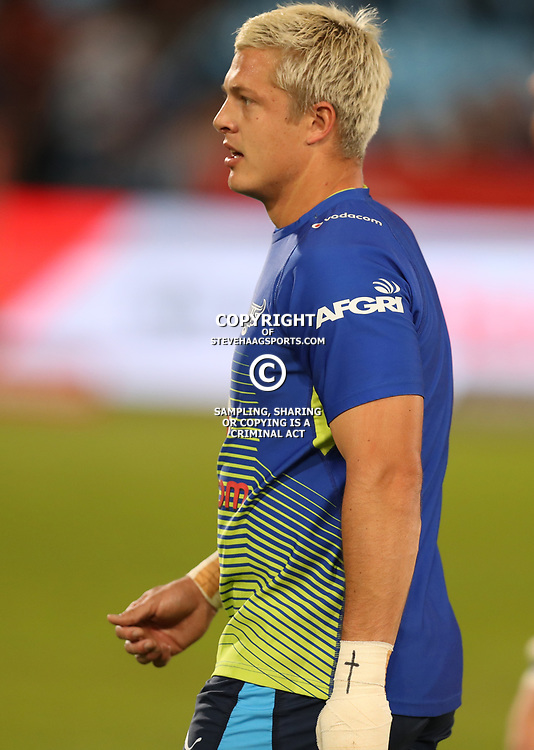 Tian Schoeman of the Vodacom Bulls during the Super Rugby match between the Vodacom Bulls and the Jaguares at Loftus Versfeld, Pretoria,South Africa April 15th 2017 Photo by (Steve Haag)
