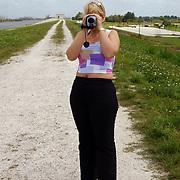 Vakantie Miami Amerika, Anneke Janssen video, filmend, Lake Harbouw, Clewiston