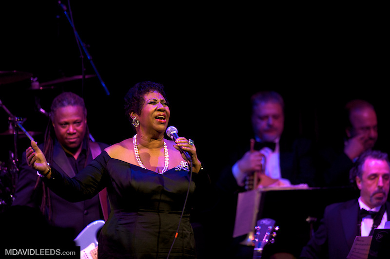 2011 May 3 NEW YORK, NY: as seen during Aretha Franklin's return performance at the Candie's Foundation 10th Anniversary fund raiser at Cipriani 42nd St in New York City..MANDATORY CREDIT:.Photo by M David Leeds