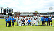 India practice session and squad photo at Lords