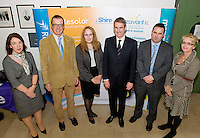 At the 4th Galway Annual IBD Study Day, Clinical Science Institute, University Hospital Galway were Margaret Drysdale, Shire; Dr. Herbert Tilg, Professor of Gastroenterology, Innsbruck,, Austria;  Dr. Tracy Hull, Professor of Colorectal Surgery, Cleveland, US; Professor Laurence J. Egan, Galway; Mr. Myles Joyce, Galway; Una Conroy, Shire sponsored by Shire Pharmaceuticals . Photo:Andrew Downes