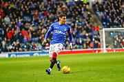 James Tavernier of Rangers during the Ladbrokes Scottish Premiership match between Rangers and Hamilton Academical FC at Ibrox, Glasgow, Scotland on 16 December 2018.