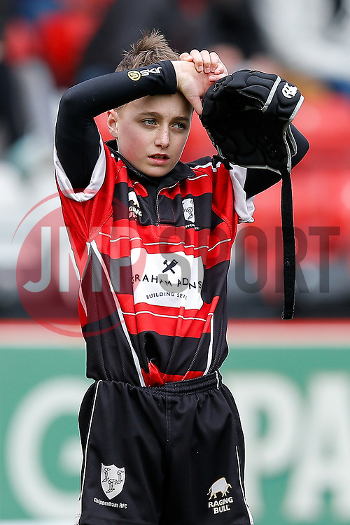 SGS Nando's Cup U13 Grand Final - Photo mandatory by-line: Rogan Thomson/JMP - 07966 386802 - 29/03/2015 - SPORT - Rugby Union - Bristol, England - Ashton Gate Stadium - Bristol Rugby v Bedford Blues - Greene King IPA Championship.
