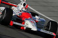 Sam Hornish Jr. at the Homestead-Miami Speedway, Toyota Indy 300, March 6, 2005