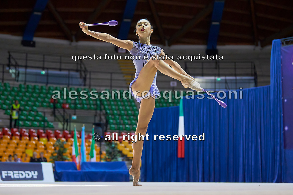 "Arzu Jalilova of Azerbaijan Team during the ""7th tournament city of Desio"", 09 March 2019."