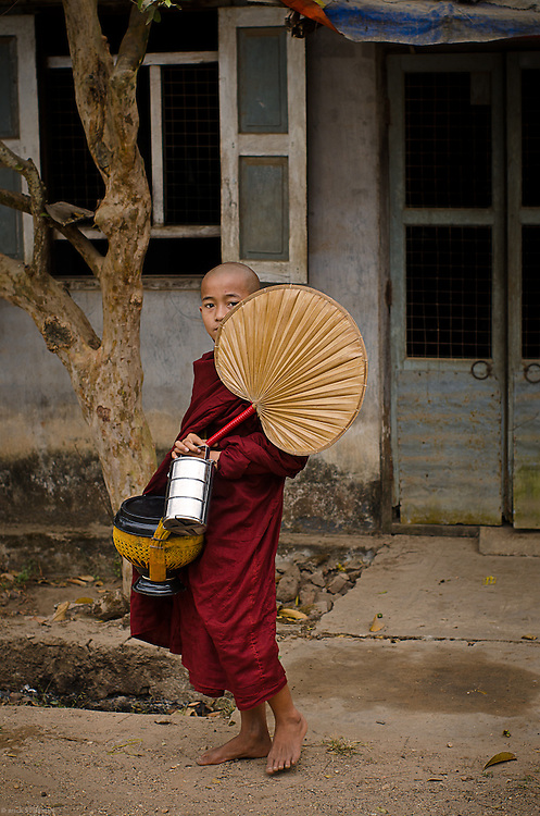 — Every Burmese male is expected to reside at a Buddhist monastery and participate in the monastic rituals at least twice in their life: once as a novice, between ages 10 and 20; then again for 3 months sometime after becoming an adult.