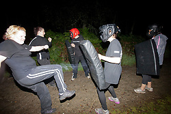 Krav Island Saturday night session at Balmaha..©Michael Schofield.